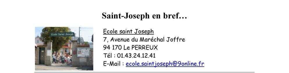 Saint-JO en bref